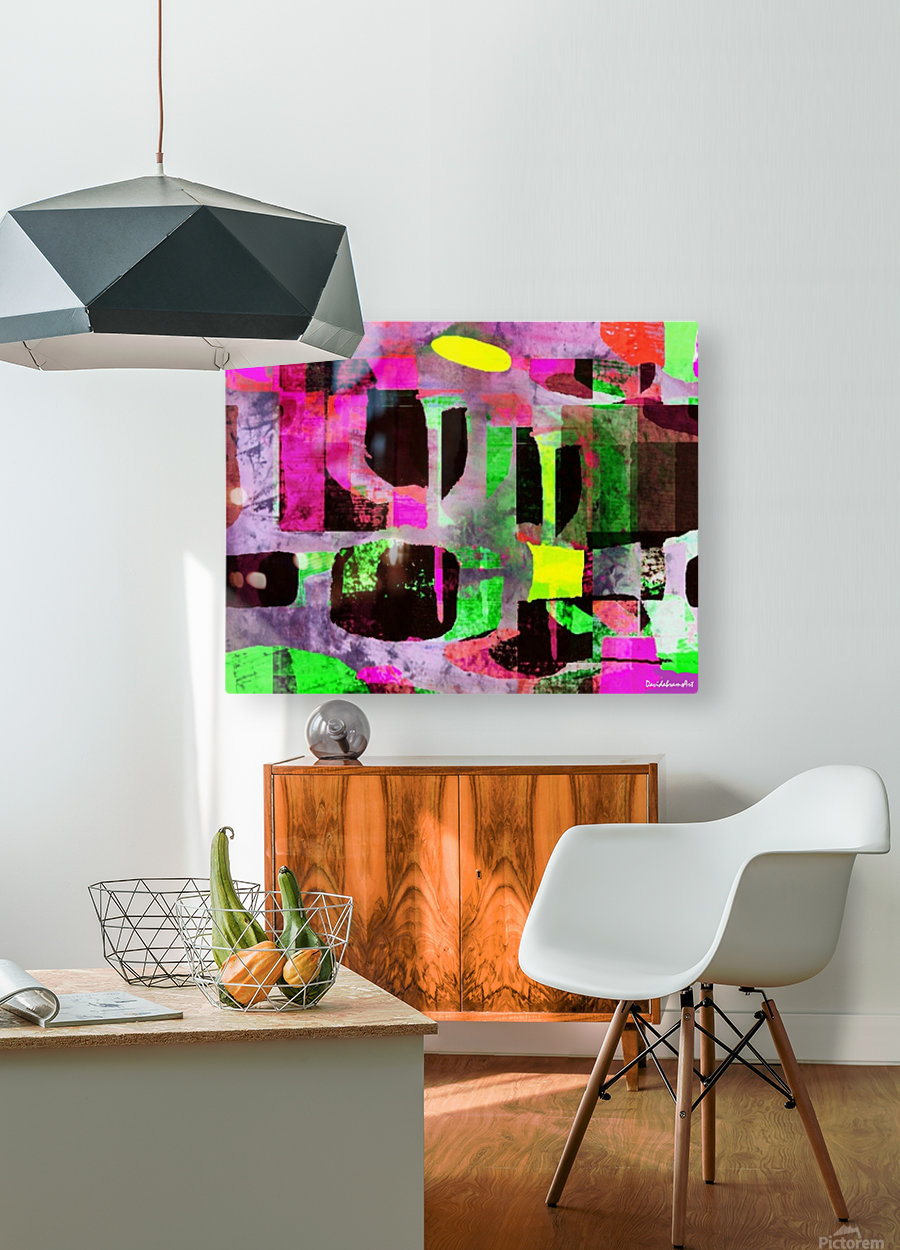 Candy Store  HD Metal print with Floating Frame on Back