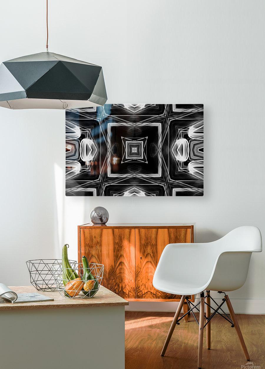 Digital art  HD Metal print with Floating Frame on Back