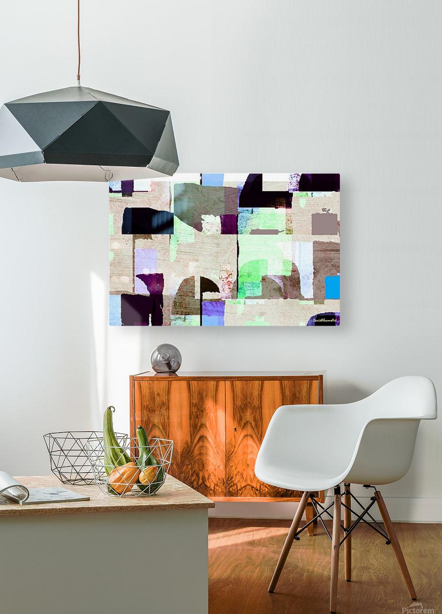 Hall Circle  HD Metal print with Floating Frame on Back