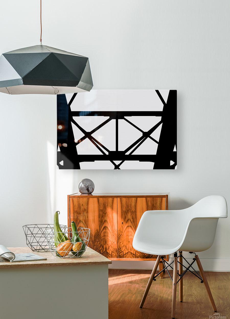 Bridge I  HD Metal print with Floating Frame on Back