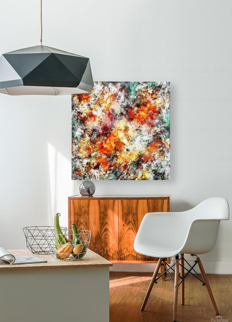 Afterburner  HD Metal print with Floating Frame on Back
