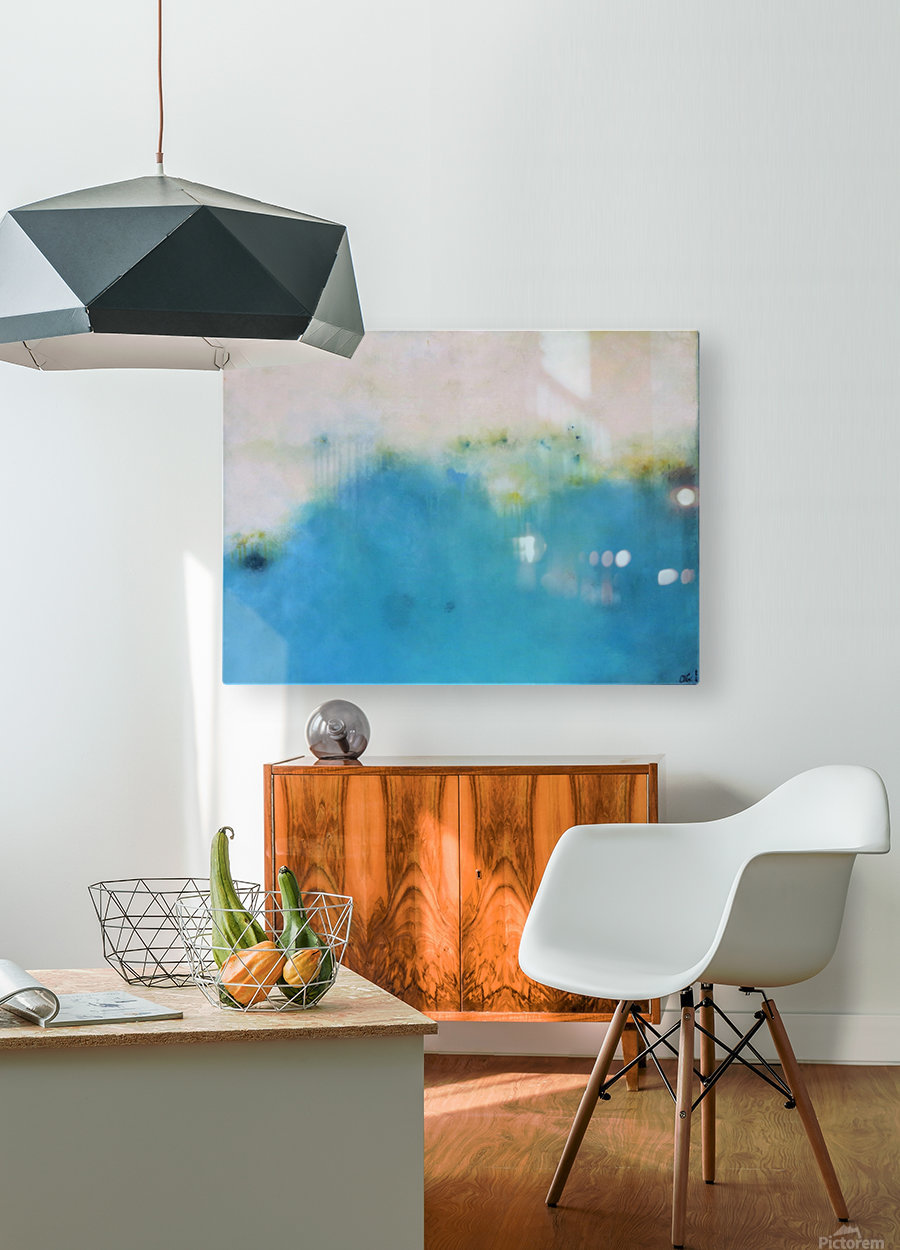 A Brighter Day.  HD Metal print with Floating Frame on Back