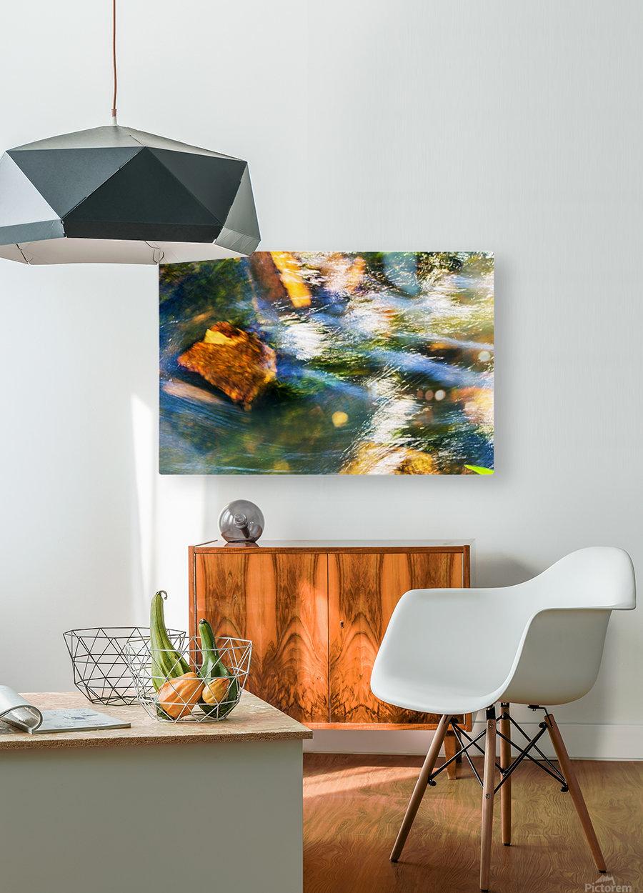 River I  HD Metal print with Floating Frame on Back