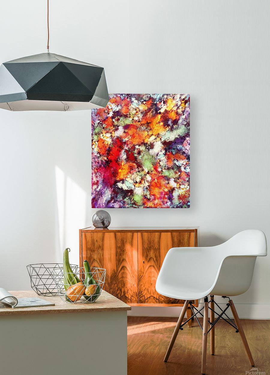 Illuminator  HD Metal print with Floating Frame on Back