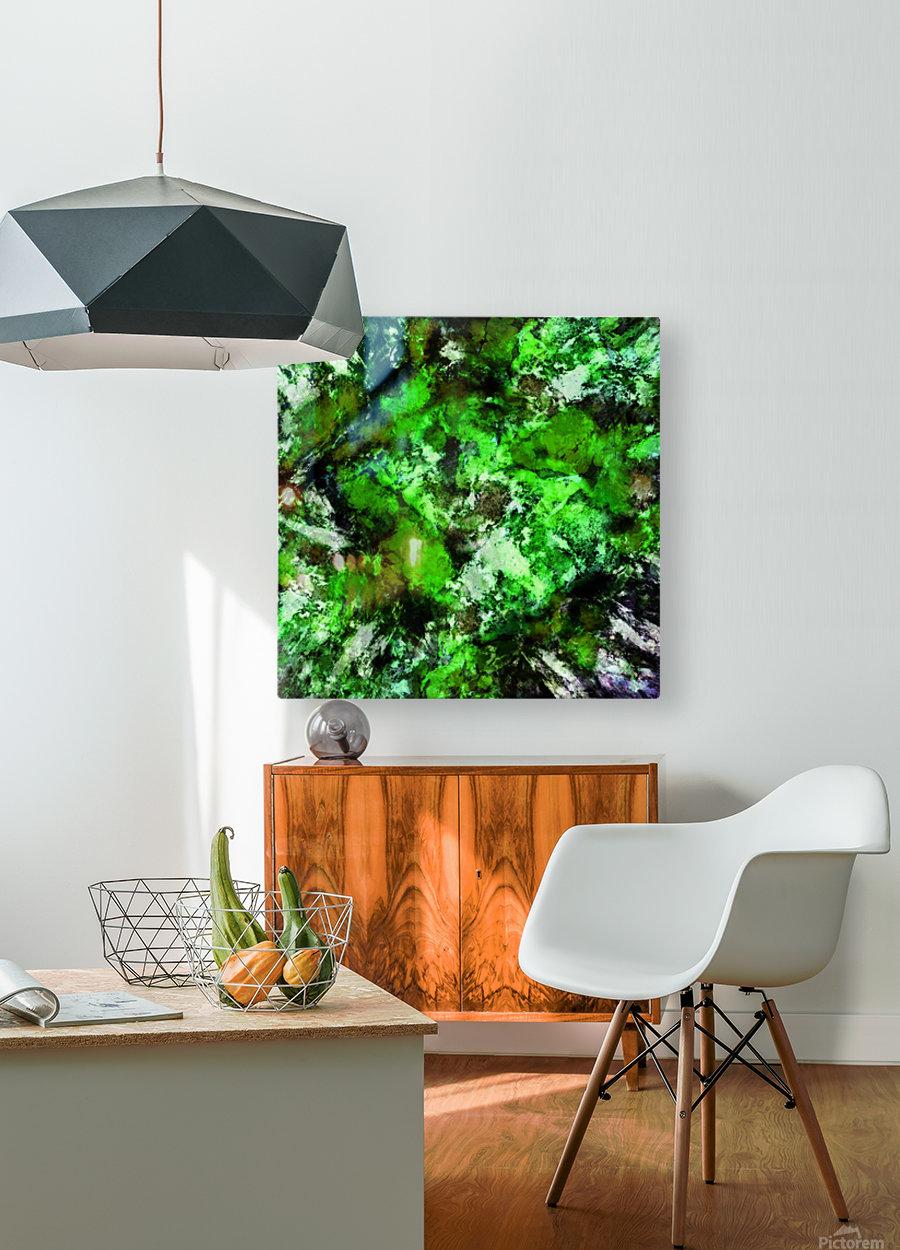 Impulse 2  HD Metal print with Floating Frame on Back
