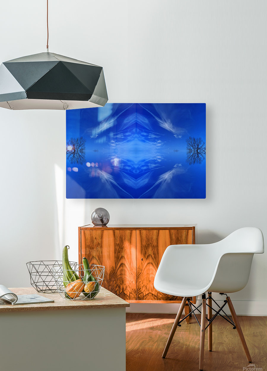 Cloudes 93  HD Metal print with Floating Frame on Back