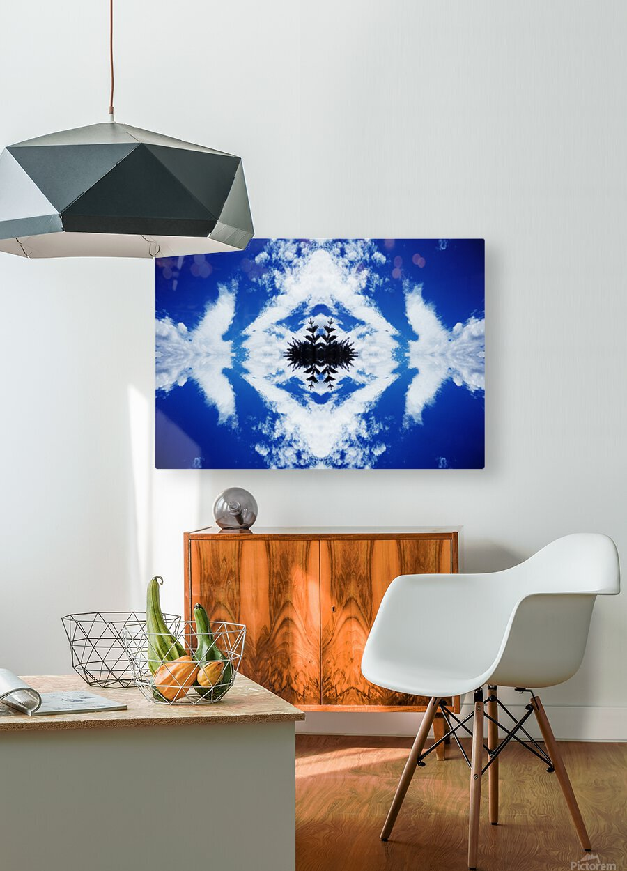 Cloudes 104  HD Metal print with Floating Frame on Back