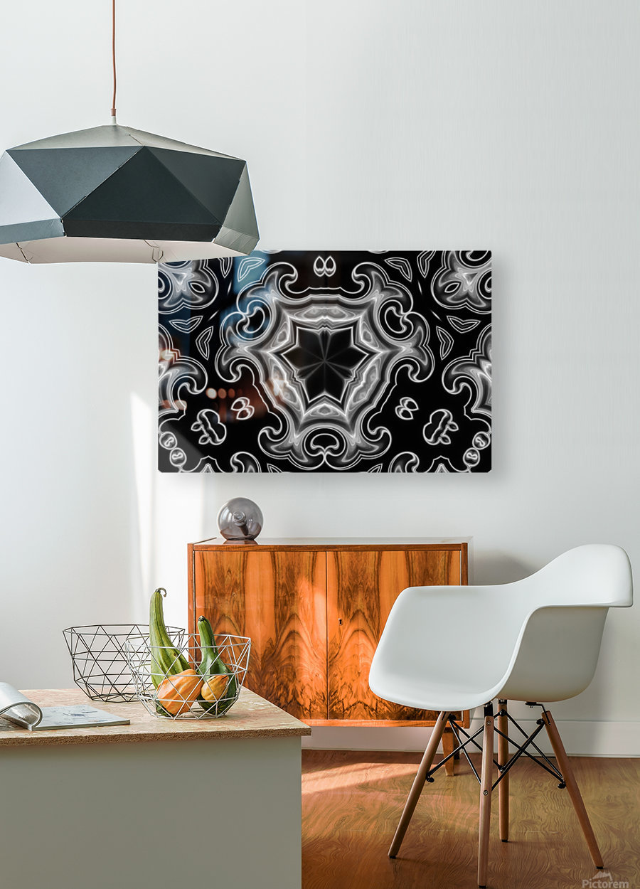 Abstract digital Art  HD Metal print with Floating Frame on Back