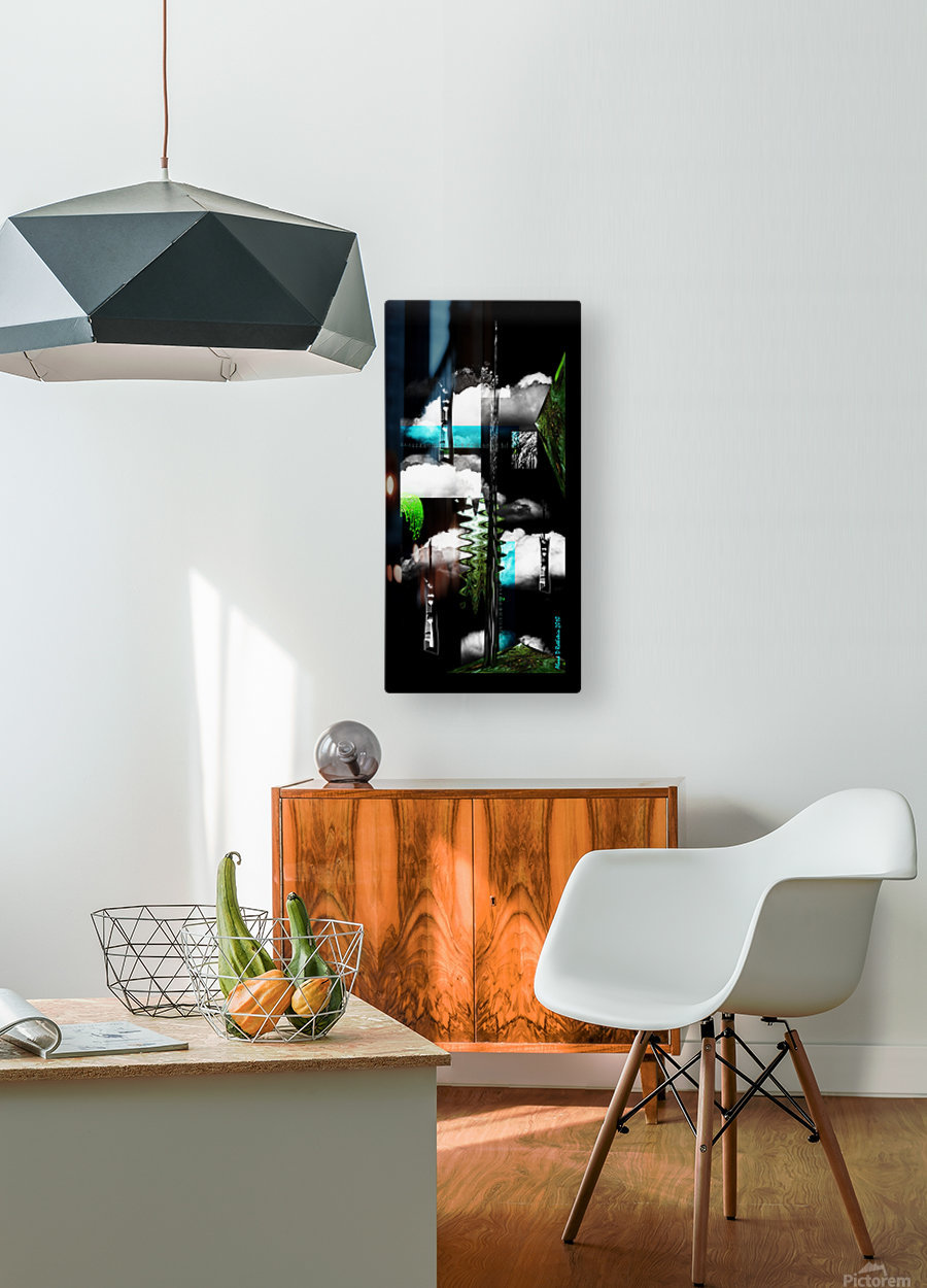 Pave Paradise  HD Metal print with Floating Frame on Back