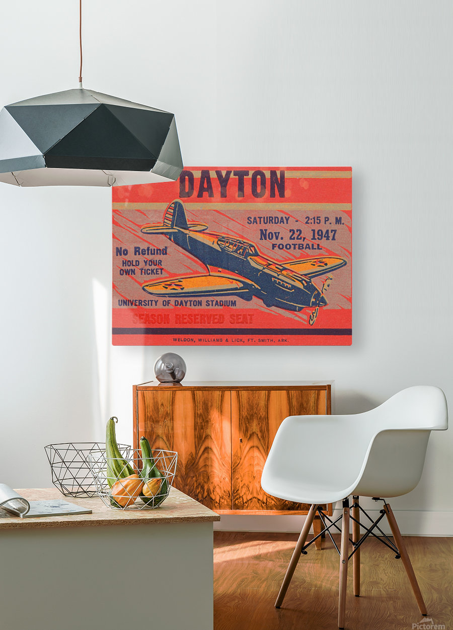 dayton ohio gift ideas  HD Metal print with Floating Frame on Back