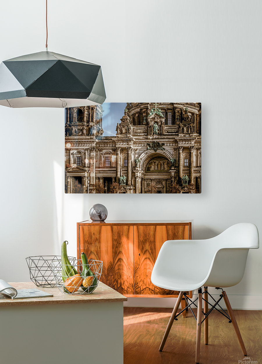 berlin cathedral building_1588539606.9187  HD Metal print with Floating Frame on Back