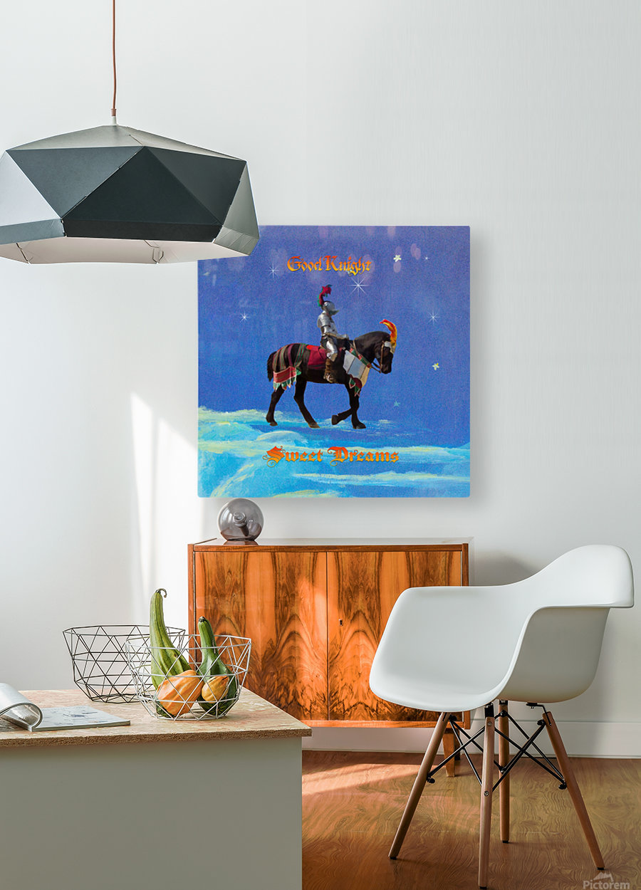 Good Knight  Sweet Dreams  HD Metal print with Floating Frame on Back