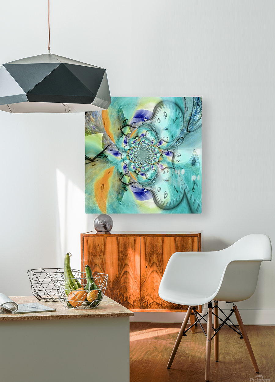 Infinite Vibes  HD Metal print with Floating Frame on Back