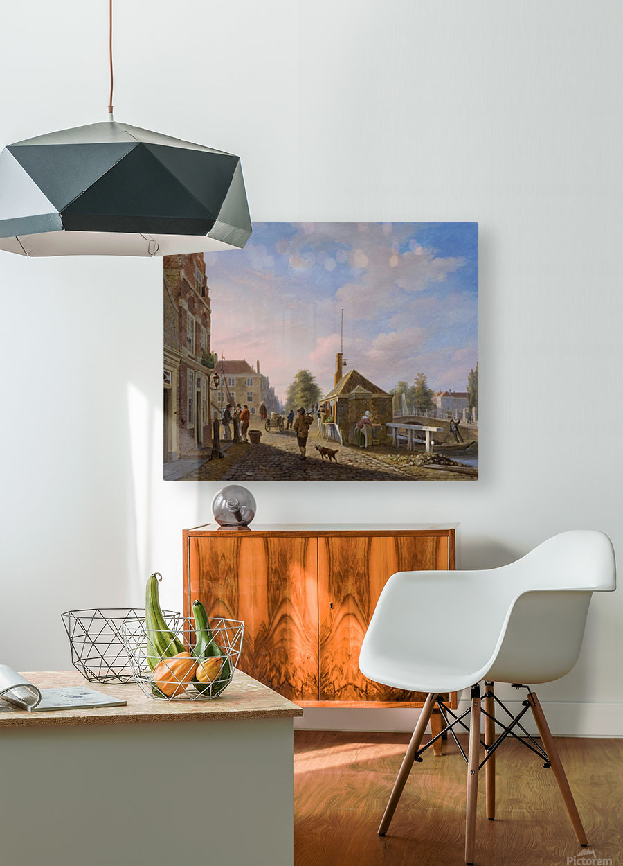 The Spui in The Hague  HD Metal print with Floating Frame on Back
