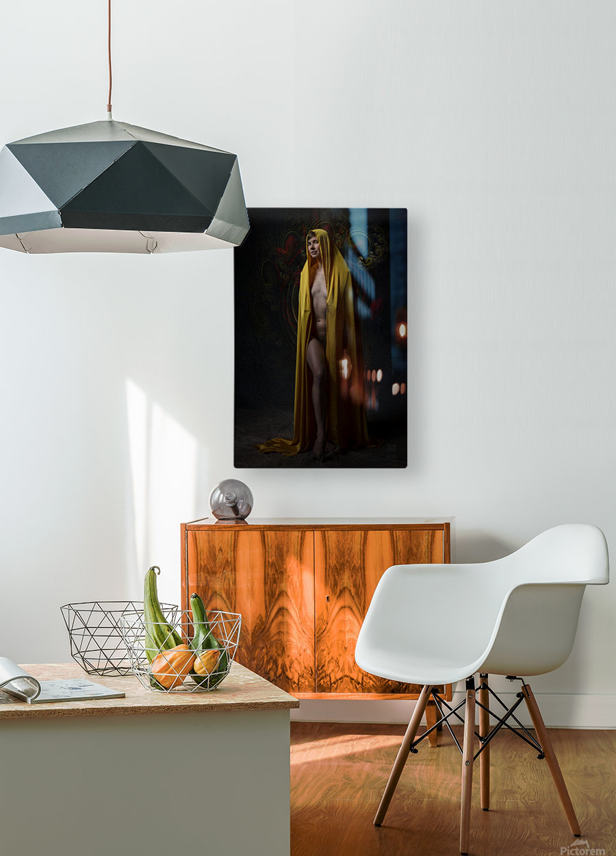 Talisman  HD Metal print with Floating Frame on Back