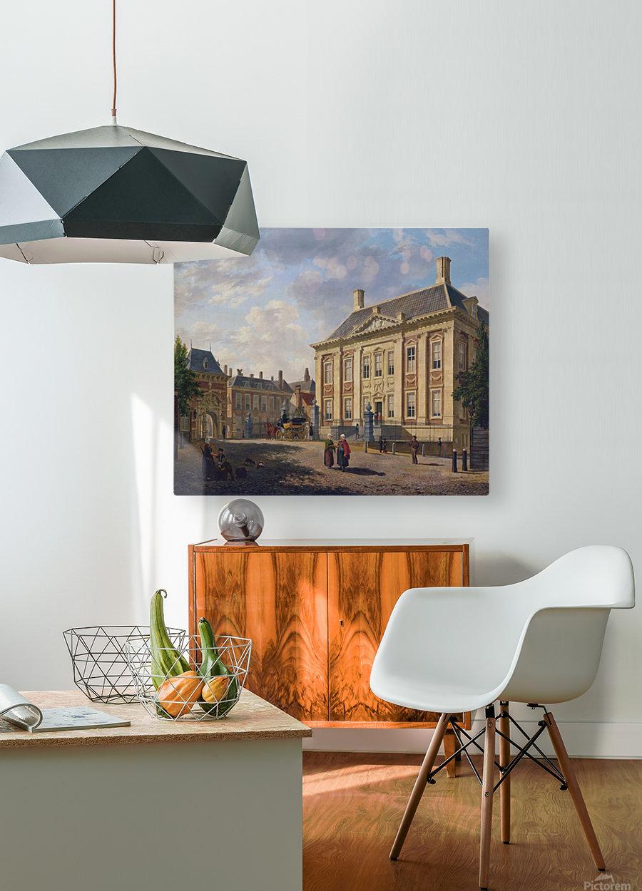 Het Mauritshuis te Den Haag  HD Metal print with Floating Frame on Back
