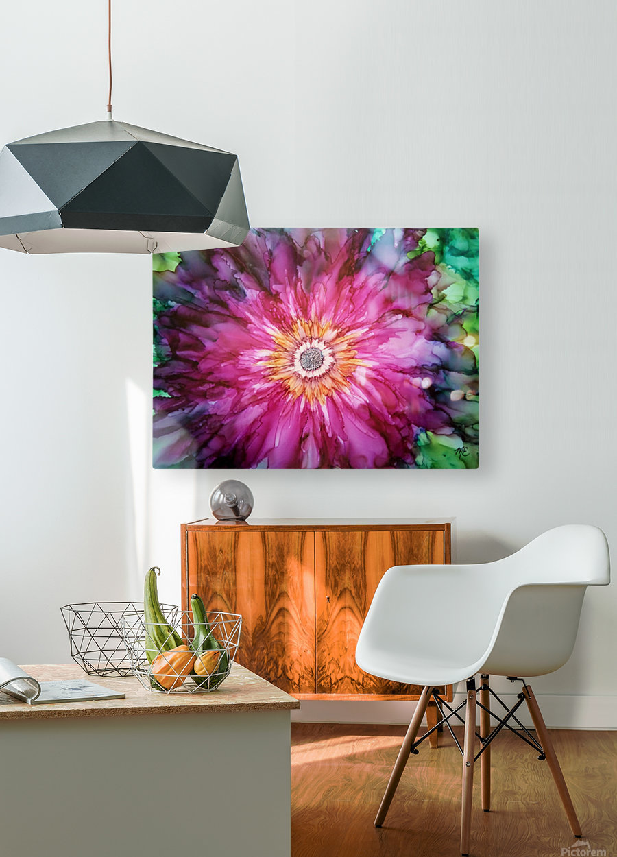 Forever Blooming  HD Metal print with Floating Frame on Back