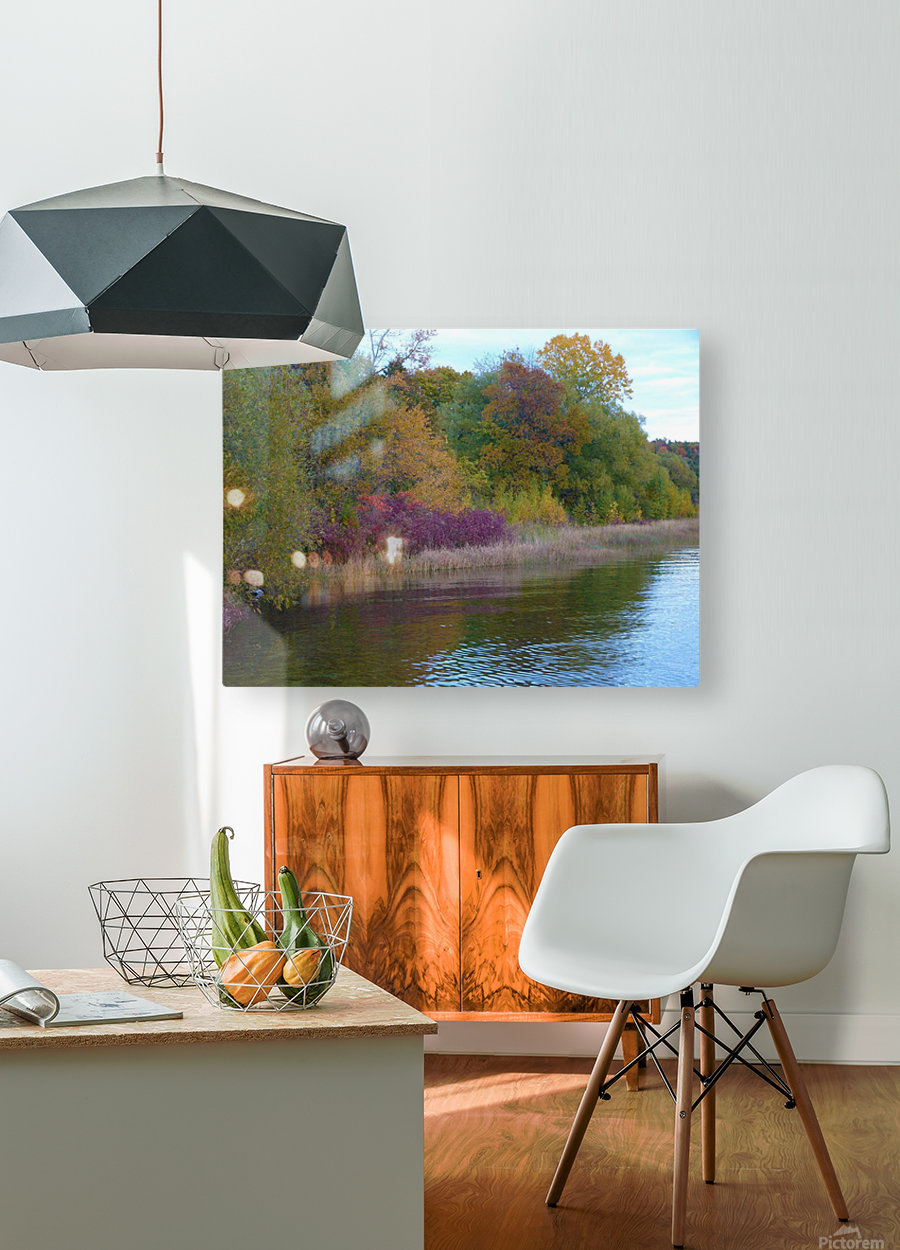 Gods Palette  HD Metal print with Floating Frame on Back