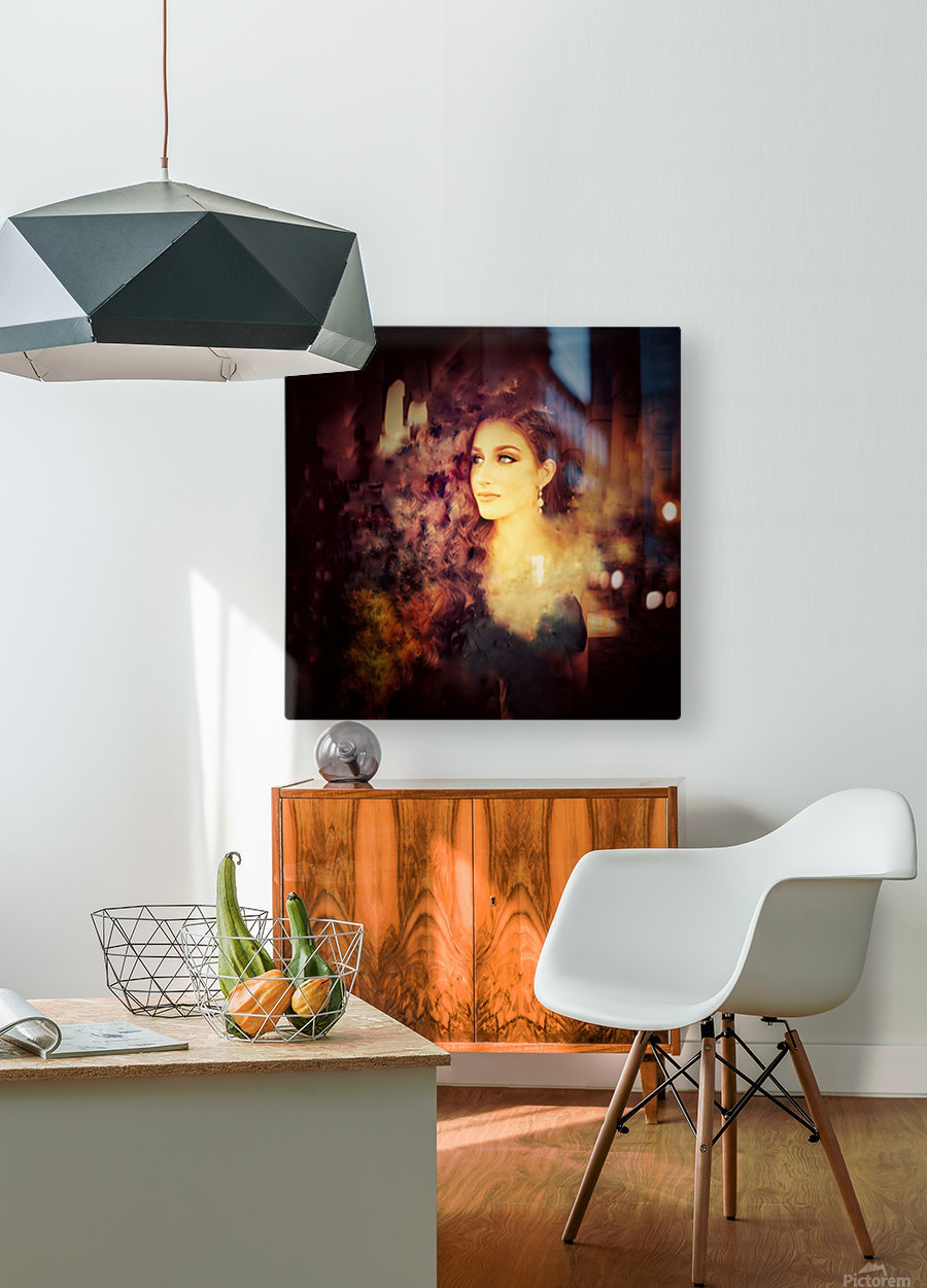Countenance of Virtue  HD Metal print with Floating Frame on Back
