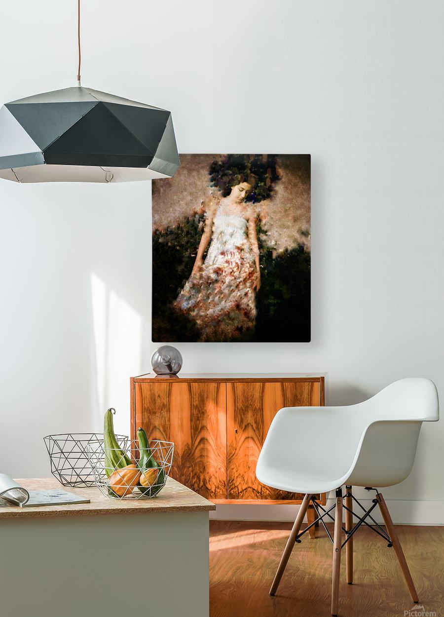 Messenger Descending  HD Metal print with Floating Frame on Back