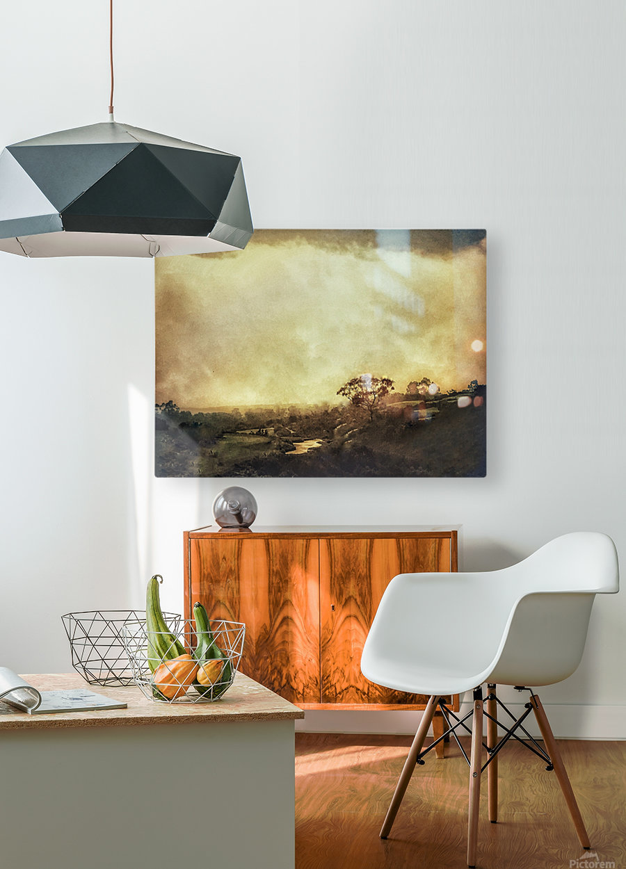 Morning Dew  HD Metal print with Floating Frame on Back
