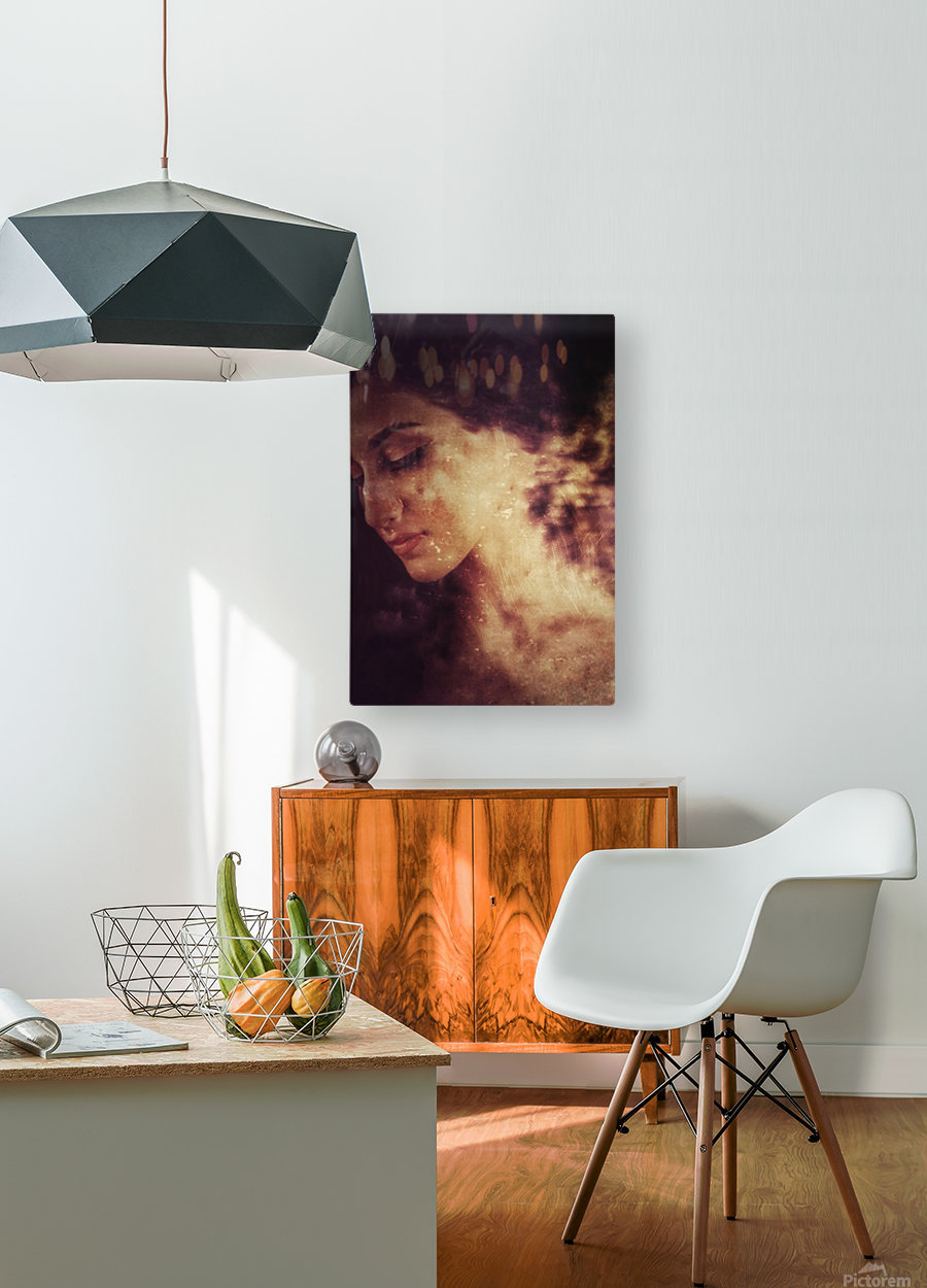Countess  HD Metal print with Floating Frame on Back