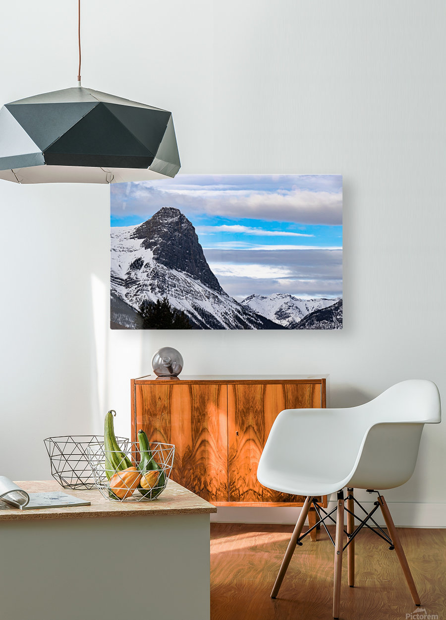 Ha Ling Mountain   HD Metal print with Floating Frame on Back