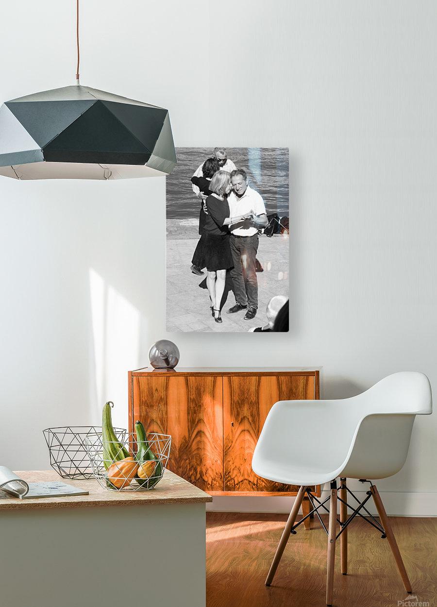 Salsa de la Seine  HD Metal print with Floating Frame on Back