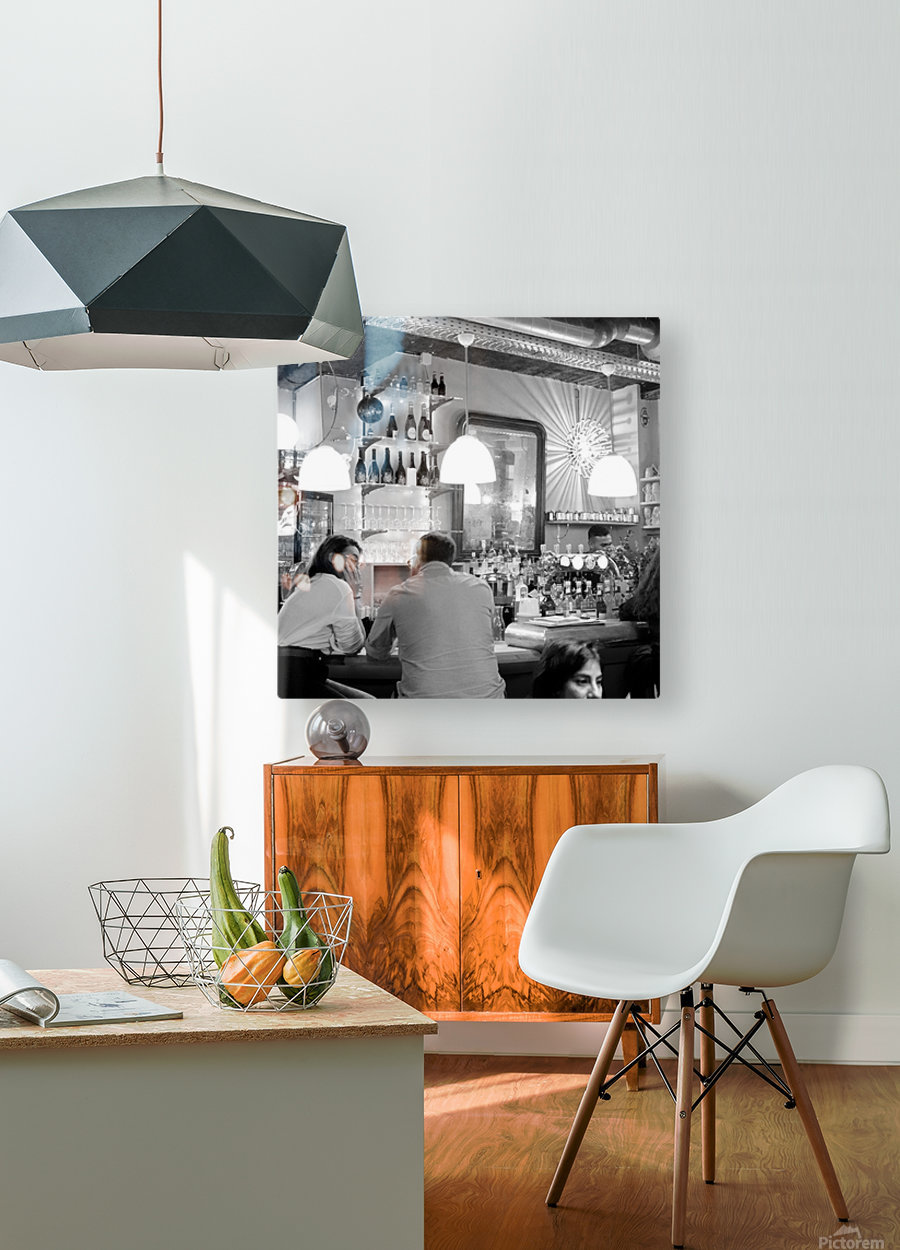 Soiree dans le Griffon  HD Metal print with Floating Frame on Back