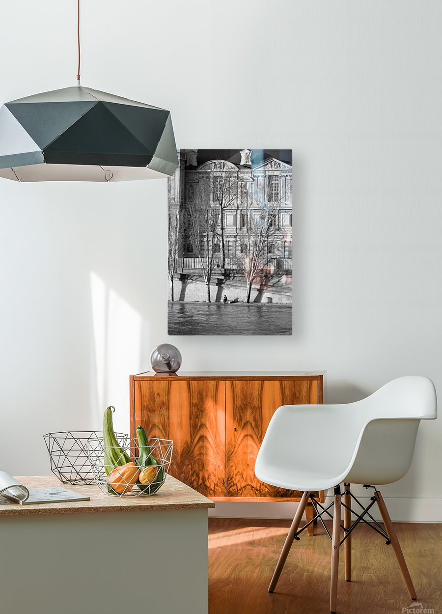 Couche du Soleil Louvre  HD Metal print with Floating Frame on Back
