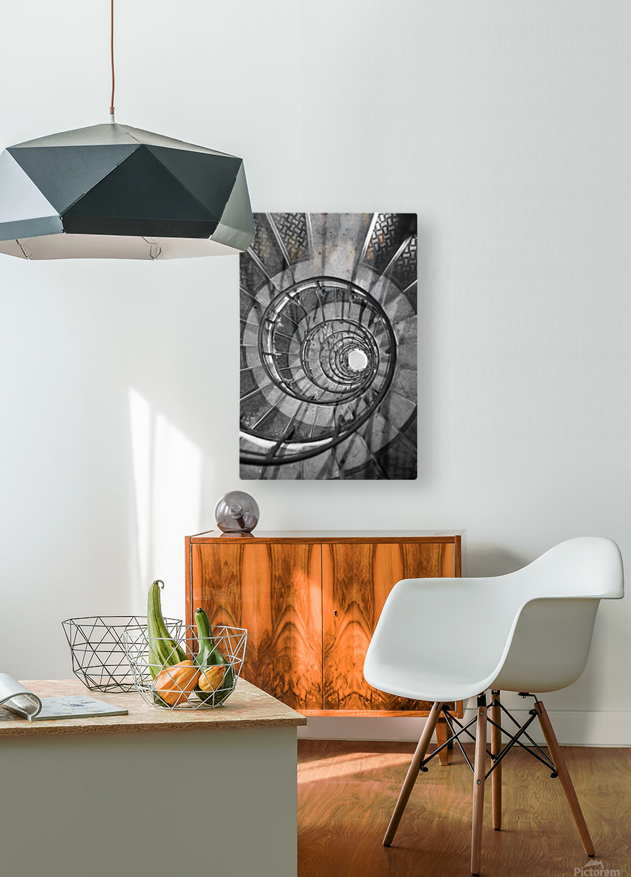 Escargot  HD Metal print with Floating Frame on Back
