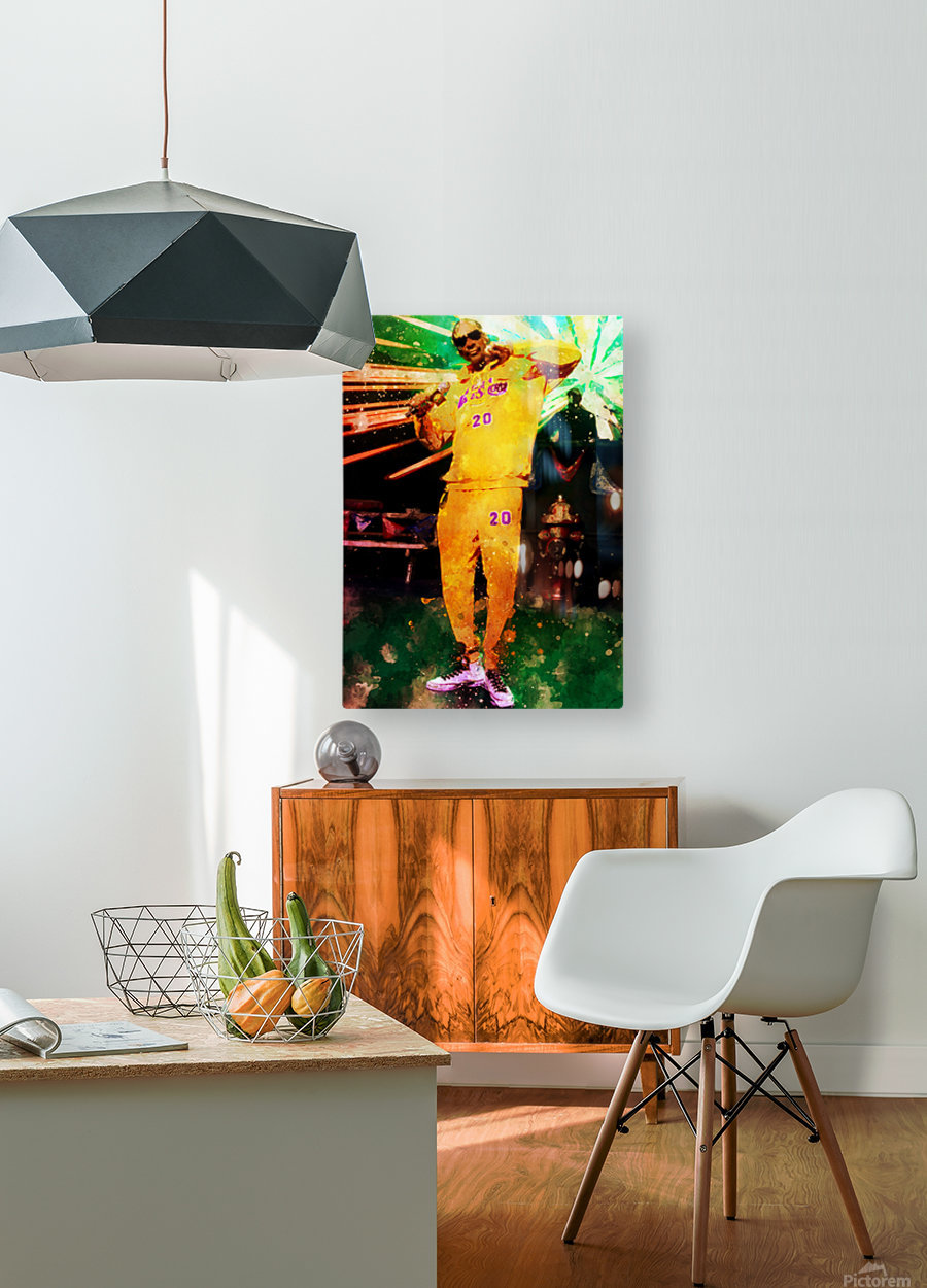 17  HD Metal print with Floating Frame on Back