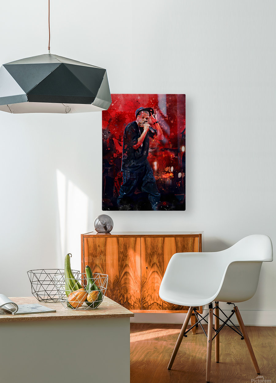 13  HD Metal print with Floating Frame on Back