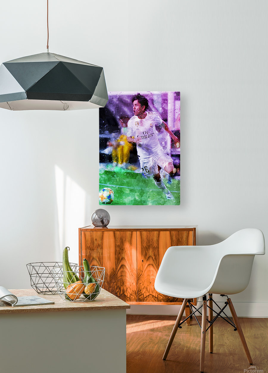 1  HD Metal print with Floating Frame on Back