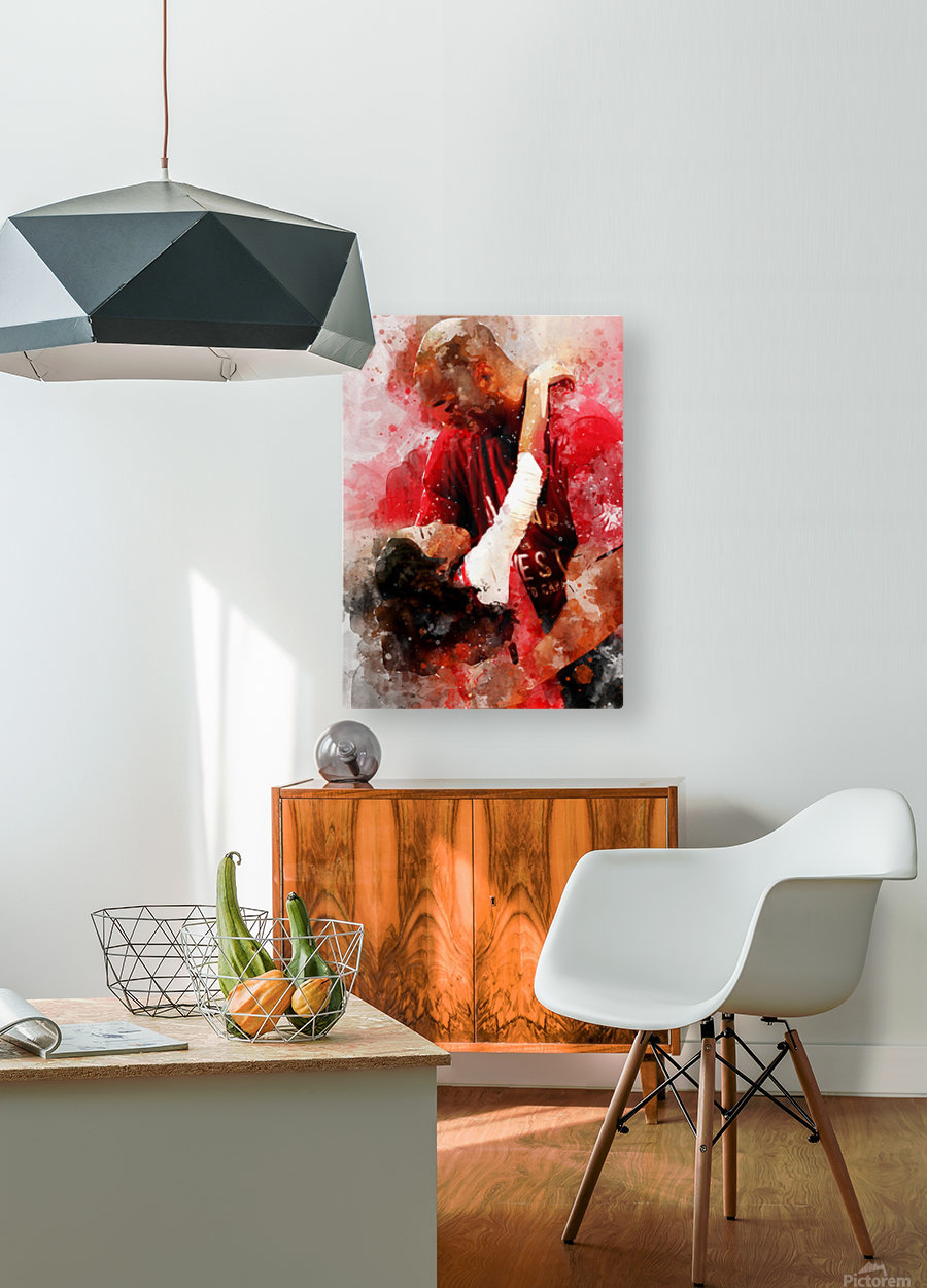 yu6  HD Metal print with Floating Frame on Back