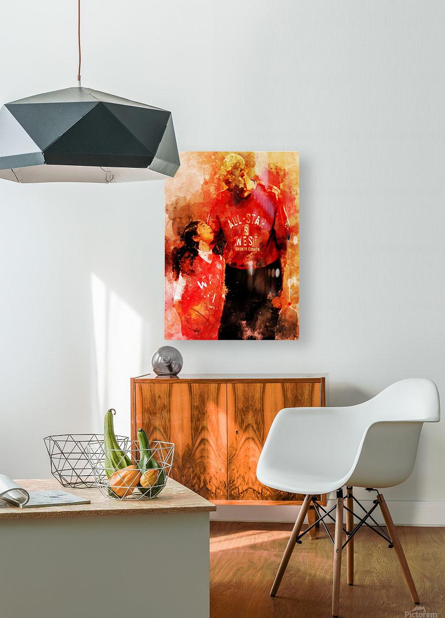 rthr  HD Metal print with Floating Frame on Back