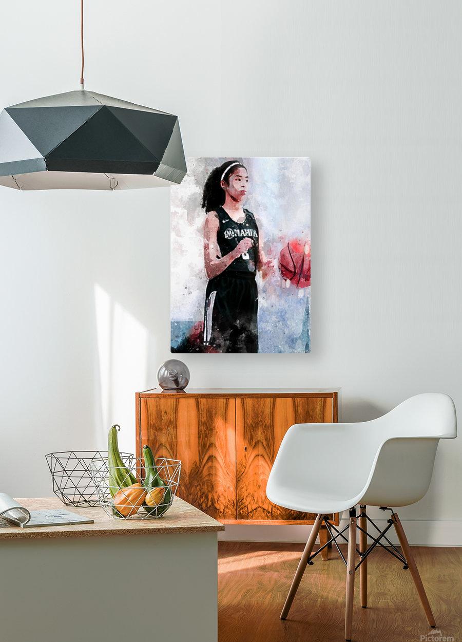 rrt  HD Metal print with Floating Frame on Back