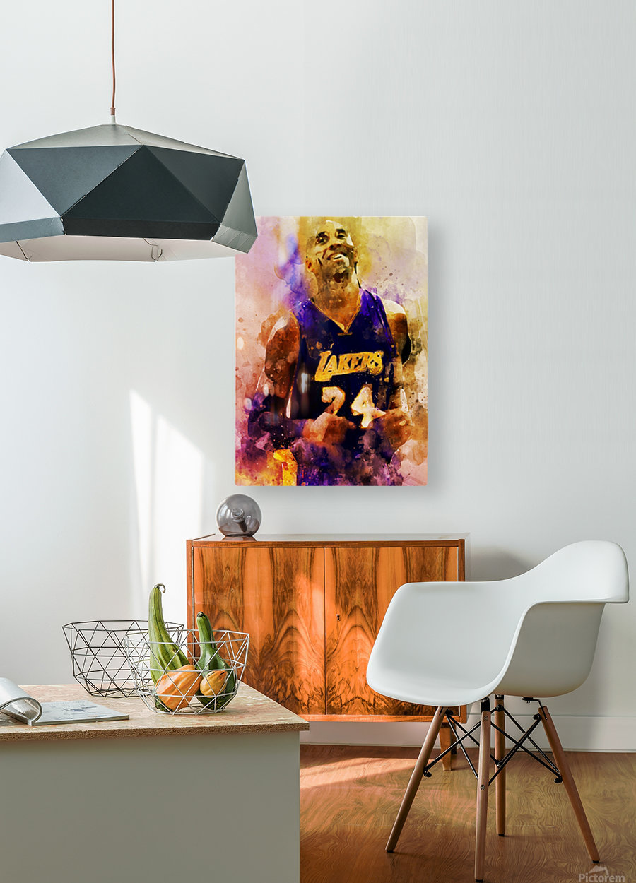 ed  HD Metal print with Floating Frame on Back
