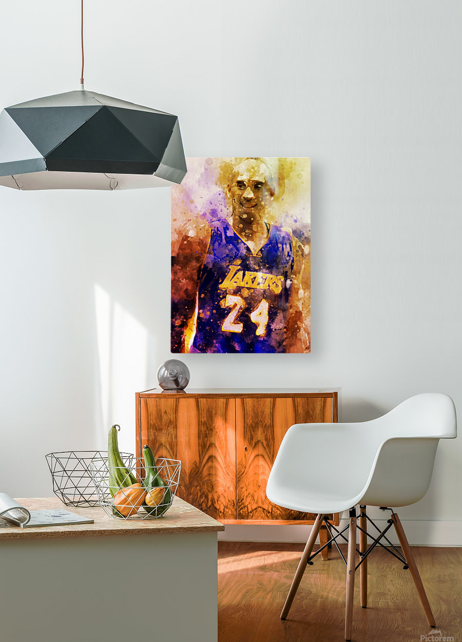 455  HD Metal print with Floating Frame on Back
