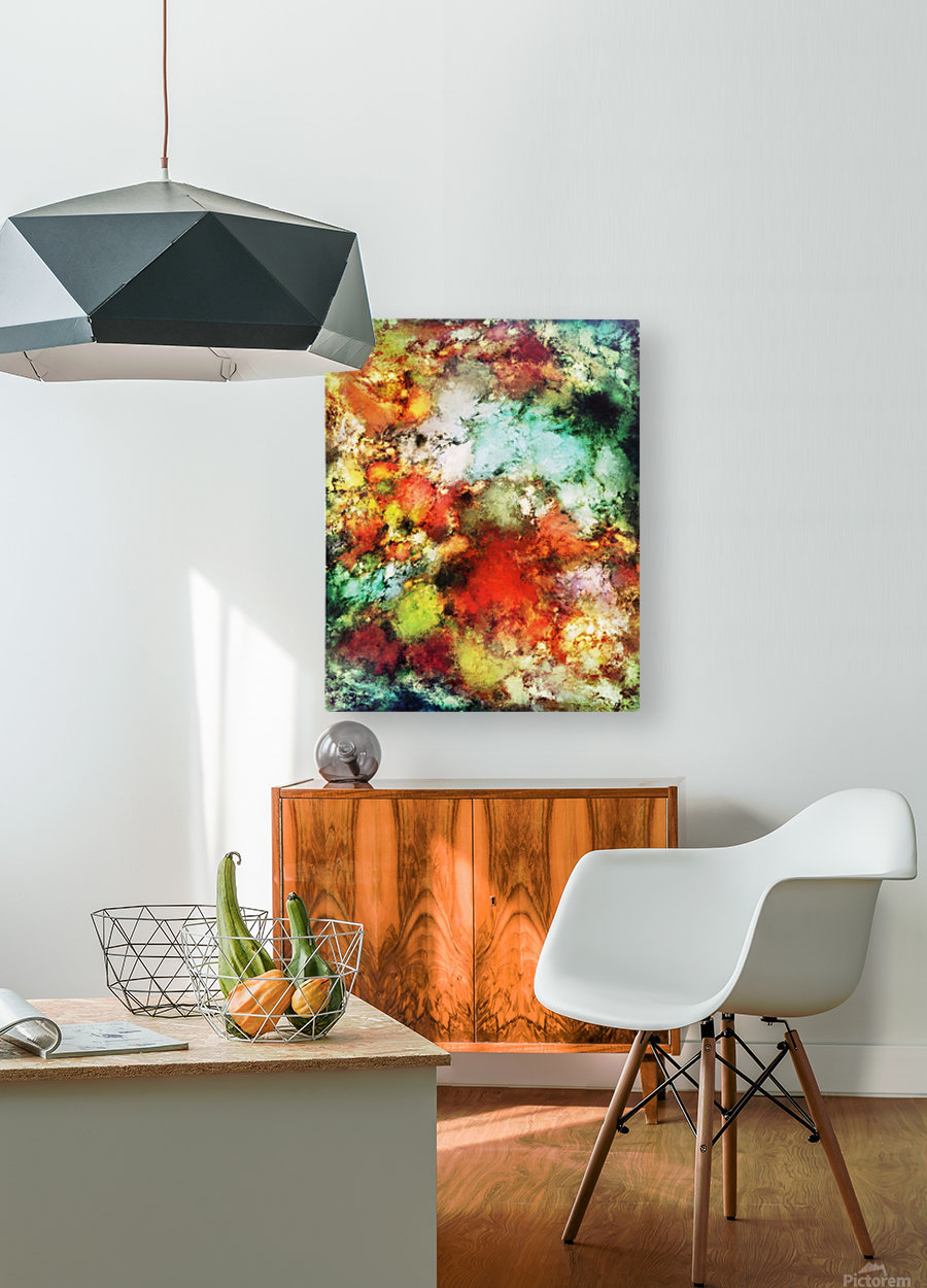 Tripwire  HD Metal print with Floating Frame on Back