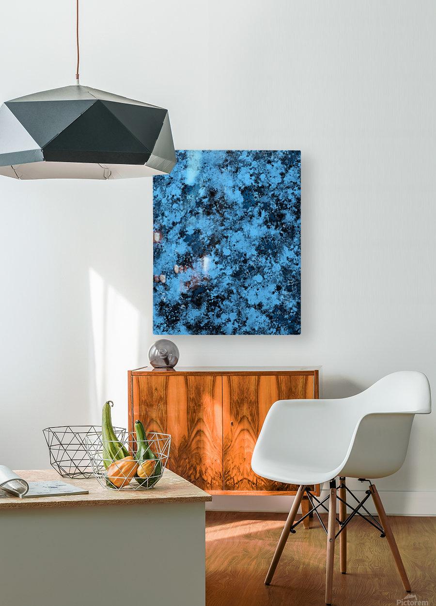 Singular  HD Metal print with Floating Frame on Back