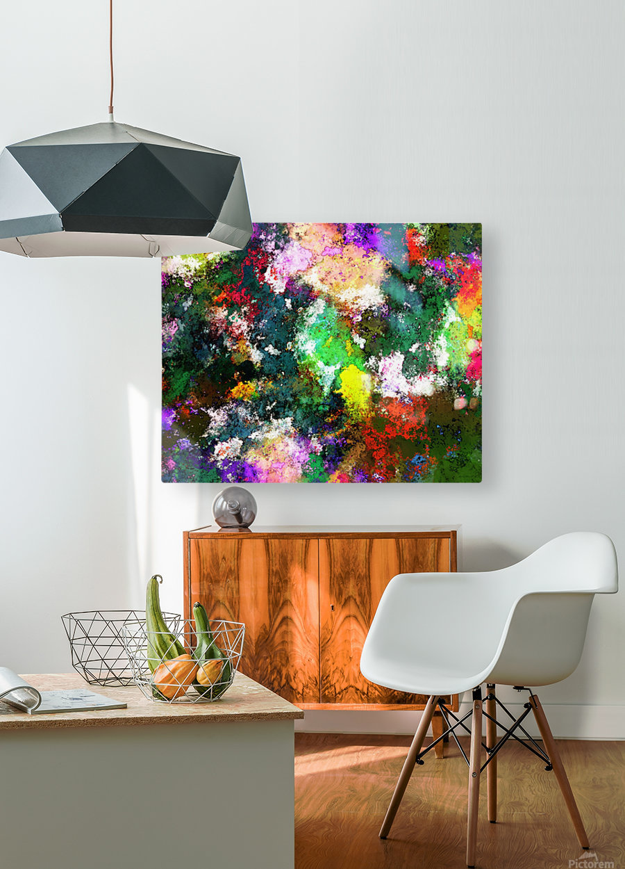 Tumbling down  HD Metal print with Floating Frame on Back