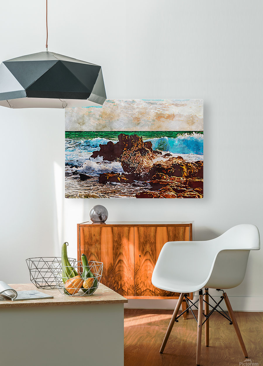 Nature View 13  HD Metal print with Floating Frame on Back