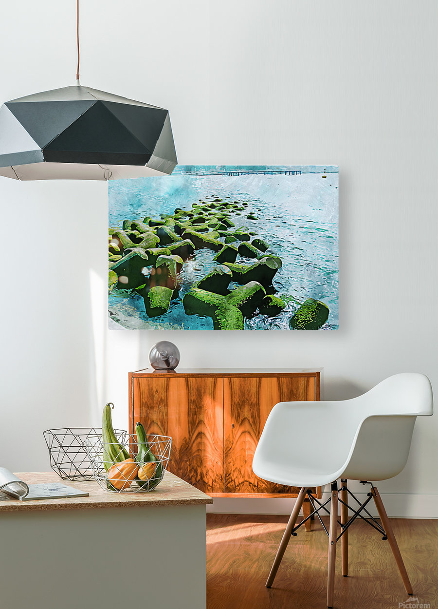 Wall Nature Decoration 7  HD Metal print with Floating Frame on Back
