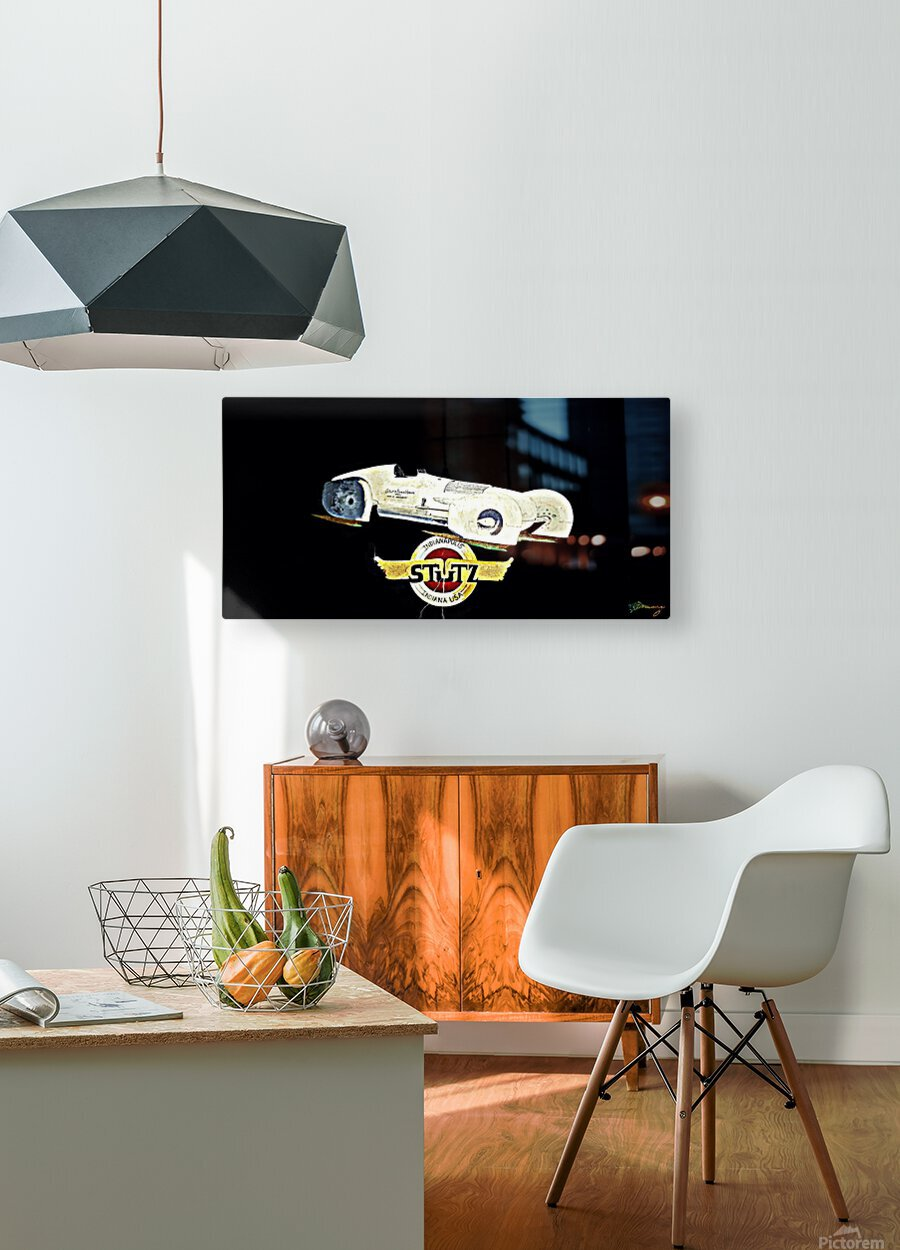 1970s Stutz RLM  HD Metal print with Floating Frame on Back