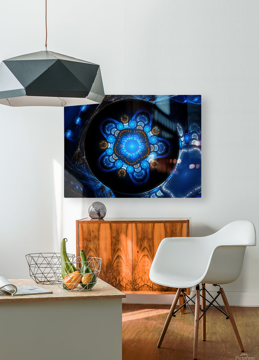 A place for your tears  HD Metal print with Floating Frame on Back