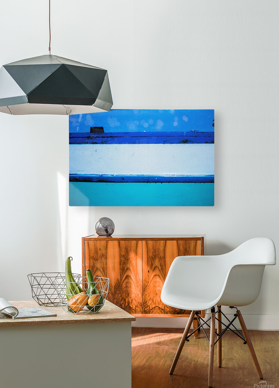 Boat - LXX  HD Metal print with Floating Frame on Back