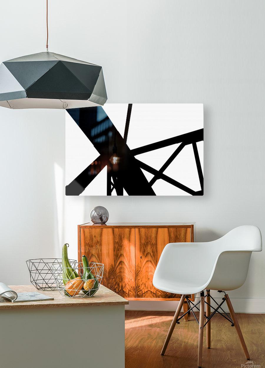 Bridge - XXIII  HD Metal print with Floating Frame on Back