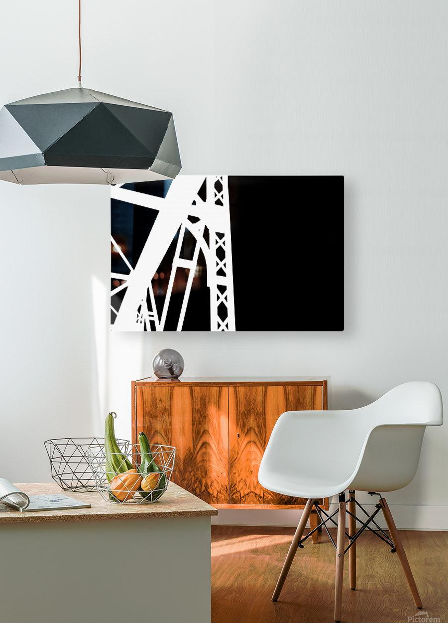 Bridge - XXIV  HD Metal print with Floating Frame on Back