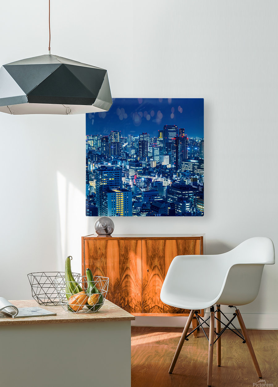 TOKYO 19  HD Metal print with Floating Frame on Back